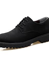 Мужские oxfords весна лето формальная обувь бык туфли pu свадьба открытый офис&Карьера участника&Прогулка на прогулочной