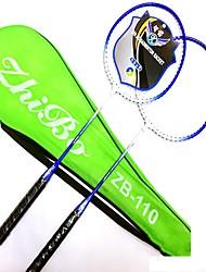 Raquettes de Badminton Evacuation de l'humidité Stabilité Alliage de fer Une Paire × 2 pourExtérieur Utilisation Exercice Sport de