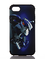For Apple iPhone 7 Plus iPhone 7 iPhone 6s Plus iPhone 6s iPhone 6 Plus iPhone 6 Case Cover The Motorcycle Pattern Plastic with TPU Frame