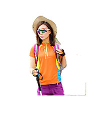 Unissexo Camiseta Respirável Secagem Rápida Vestível Primavera Verão Outono Verde Azul Real Azul Lago-Esportivo