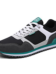 Men's Athletic Shoes Spring Summer Comfort Fabric Tulle Office & Career Athletic Casual Split Joint Lace-up Running