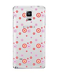 Pour Transparente Motif Coque Coque Arrière Coque Dessin Animé Flexible PUT pour Samsung Note 5 Note 4 Note 3 Note 2