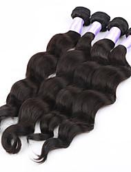 4pcs / lot 26/08 polegadas 5a não transformados brasileiras do cabelo virgem onda solta extensões de cabelo humano natural, tecer cabelo