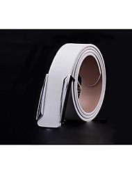 Hombre Velcro Casual Aleación Cinturón de Cintura,Un Color