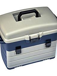 """Caixas de equipamento de pesca caixa de equipamento impermeável 42 * 8 3/5 """"(22 cm) de plástico"""