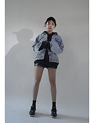 2017 весной новый корейские торговый свободный ветер колледжа личность была худые буквами печатных джинсовой куртки