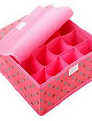 Storage Boxes Storage Units Non-woven withFeature is Lidded  For Underwear Cloth