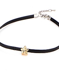 Necklace Europe Star Collar Fashion Short Black Necklace Choker Necklace