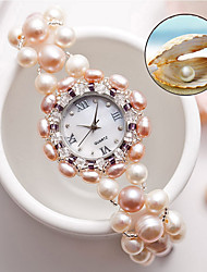 Women's Fashion Watch Quartz Jade Band White