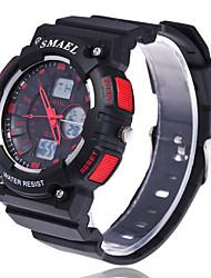 Masculino Relógio Esportivo Relógio Elegante Relógio de Moda Relógio de Pulso Relogio digital Digital Mostrador Grande Silicone Banda
