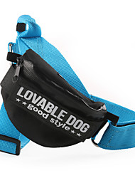 Dog Harness Adjustable/Retractable Solid Nylon