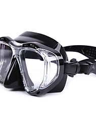 Diving Masks Reflective Waterproof Protective Diving / Snorkeling Glass silicone Red Orange Blue Black
