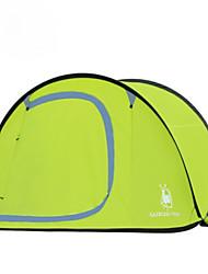 3 a 4 Personas Solo Carpa para camping Una Habitación Tienda pop up para Senderismo Camping Viaje CM