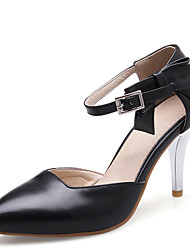 Women's Shoes Stiletto High Heel Pointed toe Bowknot Ankle Strap Pump More Color Available