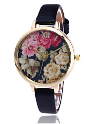 Fashion Flower Watch Garden Beauty Women Wrist Watch Floral Dial Quartz Watch Gift Relogio Feminino