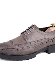 Men's Oxfords Spring Fall Gladiator Creepers Formal Shoes Bullock shoes Leather Wedding Office & Career Party & Evening Casual Low Heel