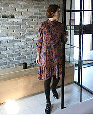NEW ITEMS Fan Korean sweet lady was thin waist dress