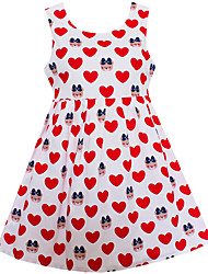 Girls Dress Balloon Smile 100% Cotton Party Birthday Casual Kids Clothing