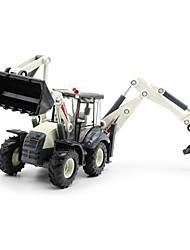 Veiculo de Construção Brinquedos Brinquedos de carro 01:50 Metal Plástico Branco Modelo e Blocos de Construção