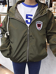 Sign in spring 2017 Korean version of the coat female student Harajuku BF wind gown girlfriends College baseball uniform student