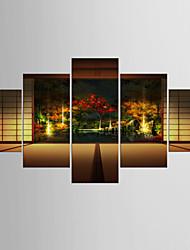 Художественная печать Известные картины Modern Классика,5 панелей Холст Любая форма Печать Искусство Декор стены For Украшение дома