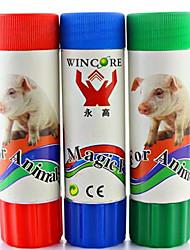 Markieren Sie Buntstifte für Tierhaltung zufällige Farbe