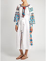 Миз. вита кин мексика вышитыми белье длинное платье