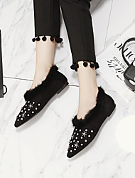 Women's Flats Comfort Suede Casual Flat Heel