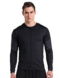 Vansydical® Long Sleeve Running Tops Quick Dry Spring Summer Sports Wear Exercise & Fitness Terylene Slim Fashion