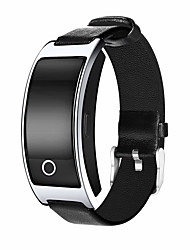 Smart Bracelet Water Resistant / Water Proof Long Standby Pedometers Sports Heart Rate Monitor Message Control Blood Pressure Measurement