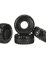 4Pcs Austar 2.2 125mm 1/10 Scale Tires for 1/10 RC4WD D90 Axial SCX10 RC Rock Crawler