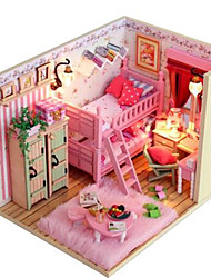 Kit Faça Você Mesmo Casa de Boneca Hobbies de Lazer Casa
