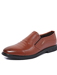 Men's Loafers & Slip-Ons Spring Summer Fall Winter Comfort Light Soles Microfibre Outdoor Office & Career Casual Flat HeelRibbon Tie