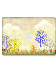 For MacBook Air 11 13/Pro13 15/Pro with Retina13 15/MacBook12 Color The TreeDecorative Skin Sticker Glow in The Dark