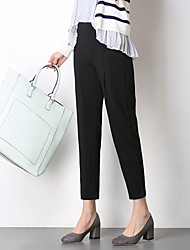 Sign spring new stretch pants feet harem pants casual pants carrot pants knit pants students