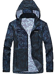 Men's Jacket Breathable Windproof Spring Black Blue
