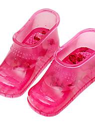 Feminino-Botas-Conforto-Rasteiro--PVC-Casual