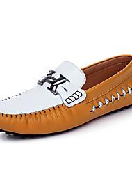 Мужская обувь для катания весна лето комфорт pu офис&Карьера участника&Вечерняя прогулка