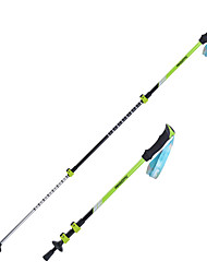 3 Nordic Walking Poles 135cm (53 Inches) Damping Foldable Light Weight Adjustable Fit Aluminum AlloyCamping & Hiking Snowshoeing