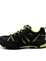 Cycling Shoes Men's Wearproof Breathable Wearable Buckle Leatherette Cycling