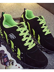 Chaussures athlétiques pour hommes Ressort confort tulle décontracté vert rouge noir