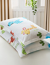 Cubierta floral del duvet fija algodón de la impresión del patrón del algodón del algodón de 2 pedazos / algodón reactivo de la impresión