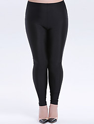 Women's Polyester Thin Solid Color Legging Solid pants