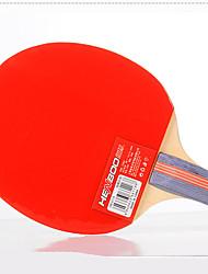 Ping Pang/Table Tennis Rackets Ping Pang/Table Tennis Ball Ping Pang Wood Long Handle Pimples 2 Rackets 2 Table Tennis BallsIndoor