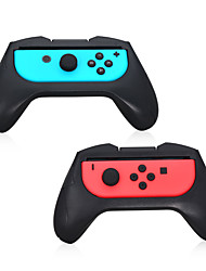 Controller Grip for Switch NS Left and Right Joy-Con Controller Gamepad Handle Stand Holder(2pcs)