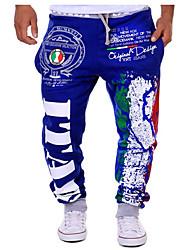 Homme Tee-shirt et Pantalons de Course Respirable Doux Confortable Pantalon/Surpantalon Tee-shirt + Pantalons de Course pour Exercice &