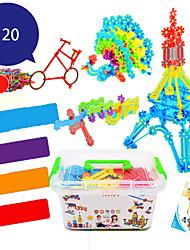 Snowflake Pieces Medium Plastic Children Fight Insert Blocks Large Kindergarten Boys And Girls Educational Toys 3-6 Years Old