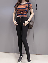 Women's Thin Solid Color Legging,Solid This Style is TRUE to SIZE.
