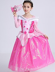 Ball Gown Tea-length Flower Girl Dress - Satin Tulle High Neck with Crystal Detailing Flower(s) Ruffles