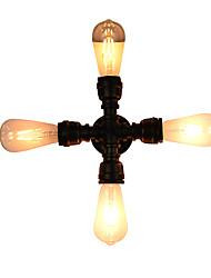 Qsgd ac220v-240v 8w e27 führte helles swalllicht geführtes Wandleuchterwand Eisenwandlampe stummes schwarzes Lichtschwertlampe an Wand